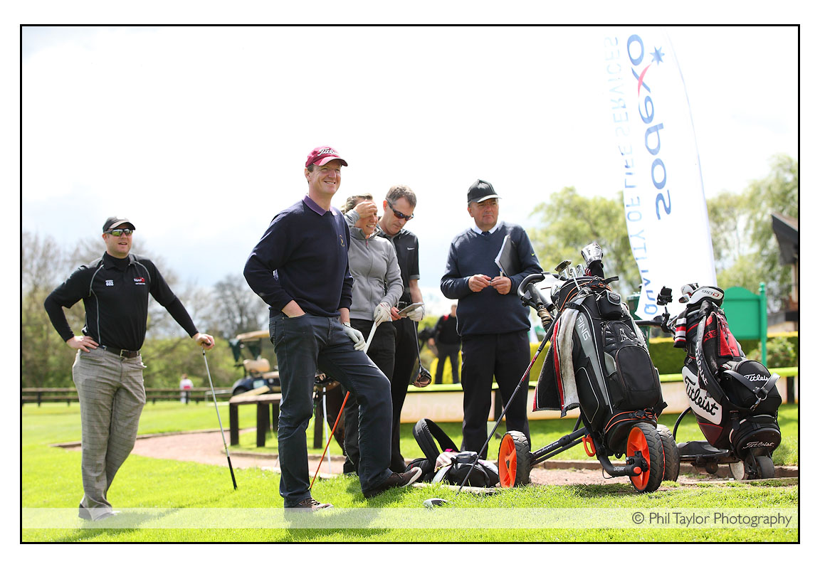 Corporate Golf Event Photography in Harrogate