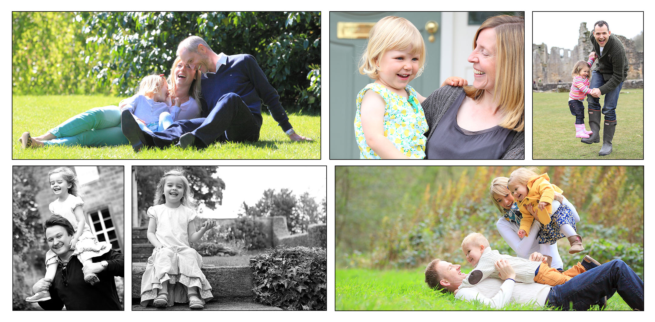 Family Portrait Photography In Leeds
